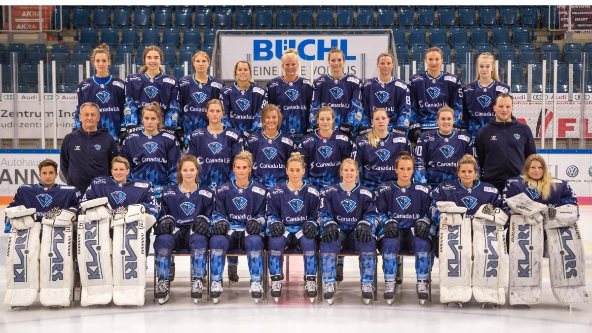 Teamfoto ERC Ingolstadt Frauen 2020/2021